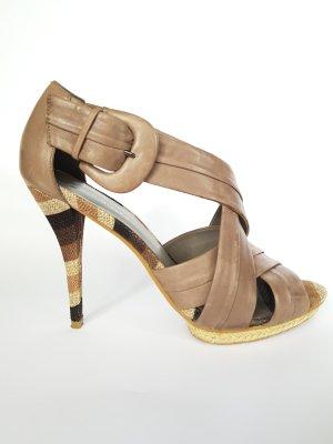 High Heel Sandalette// Plateau-Sandalette