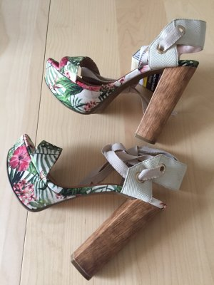 100% Fashion High Heel Sandal multicolored