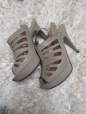 Alisha Sandaletto con tacco alto marrone-grigio