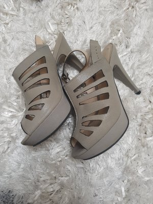 Alisha High Heel Sandal grey brown