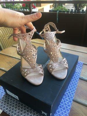 High heel Sandaletten Roségold
