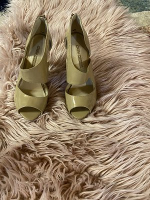 Buffalo London High Heel Sandal light brown leather
