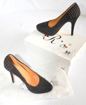 High Heel, schwarz Gr. 37 neuwertig