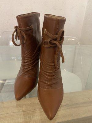 2 Elles Laarzen met hoge hakken bruin