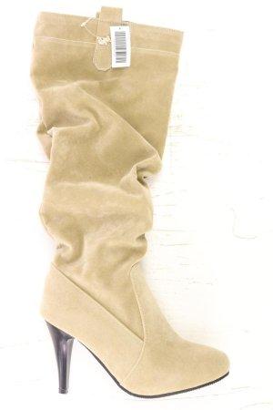 High-Heel Stiefel Größe 38 braun