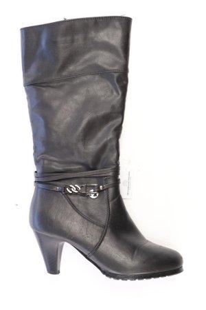 High-Heel Stiefel Größe 38 schwarz