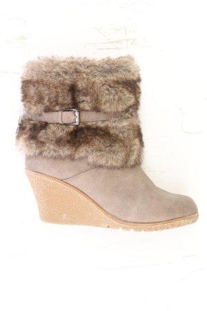 High-Heel Stiefel Größe 40 braun