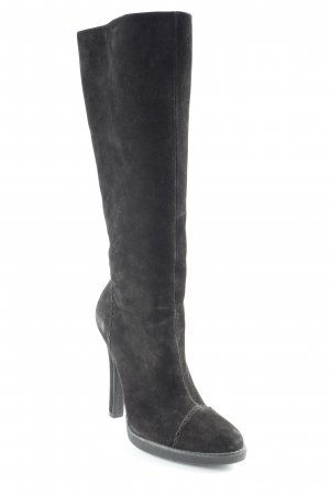 High Heel Boots black classic style
