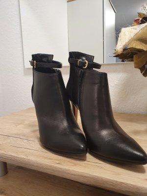 NEU 41 Apple of Eden Damen Stiefelette Chelsea Boots Vera Schwarz Nieten Gr