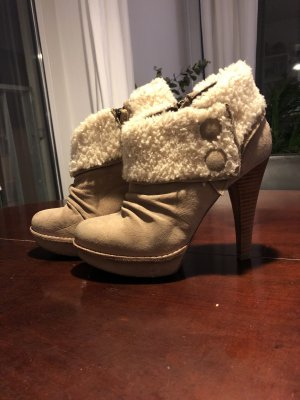 High Heel UGG Ankle Boots