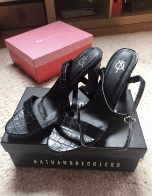 4TH & RECKLESS Talons hauts noir