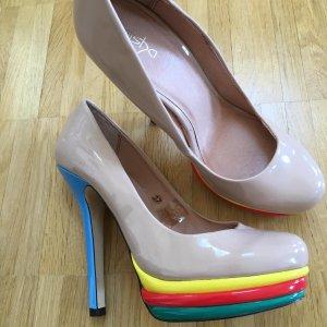 Alisha High Heels cream