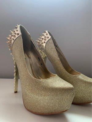 Belle Women High Heels gold-colored