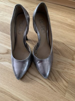 BCBGeneration High Heels silver-colored-gold-colored