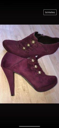 Deichmann High Heels gold-colored-purple