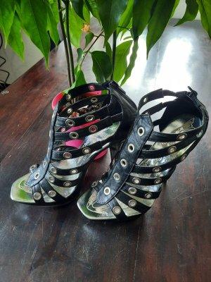 Loreinxy High Heels black-silver-colored