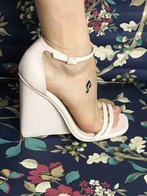Asos Wedge Sandals light pink