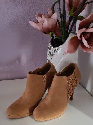 Anna Field Chaussure à talons carrés brun sable