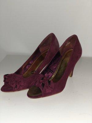 High heels Beerenfarben 39