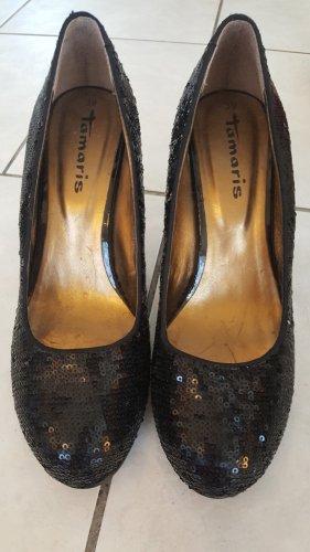 High heels black Gr. 39