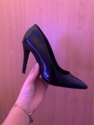High heels black- patent