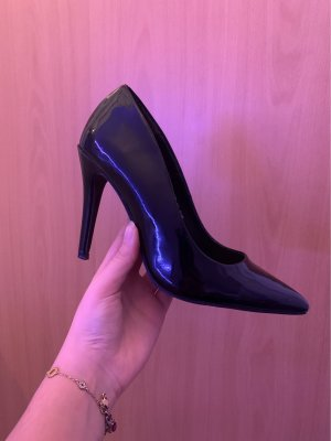 High heels black- patent