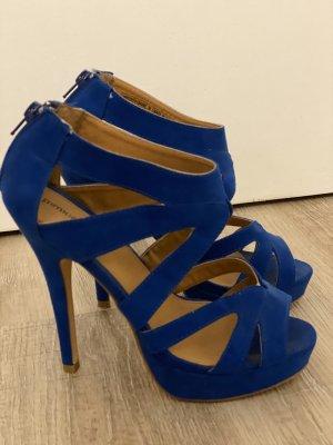 High Heels Blau Gr. 38