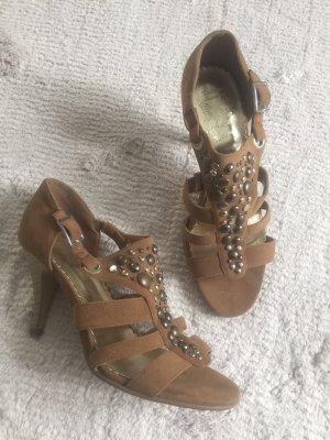 High Heels / braun / Gr. 38 / NEU