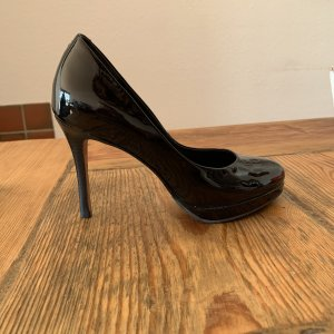 High Heels Buffalo London Lack schwarz
