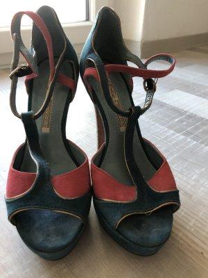 High heels colorful