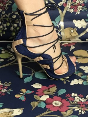 High Heel Sandal dark blue