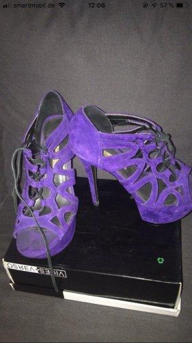 High Heels dunkel violett Buffalo