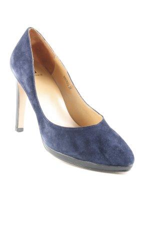 High Heels dunkelblau Business-Look