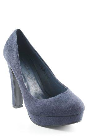 High Heels dunkelblau Elegant