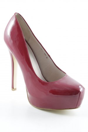 High Heels dunkelrot Elegant