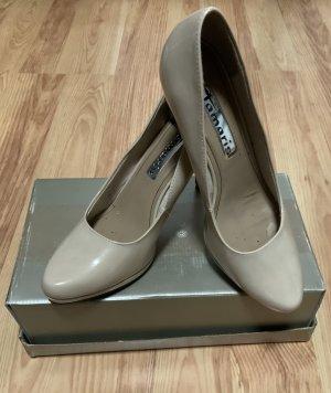 High Heels Größe 41 beige