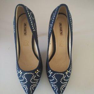 high heels in Blau