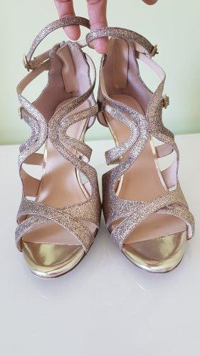 High-Heels in Gold Gr. 39