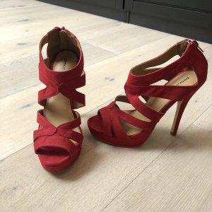 High heels in rot - nur 1 x getragen
