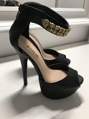 High Heels JustFab schwarz