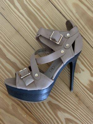 High heels Leder