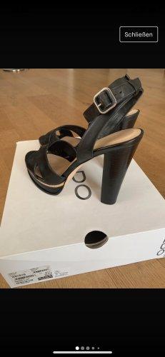 Aldo Platform Sandals black
