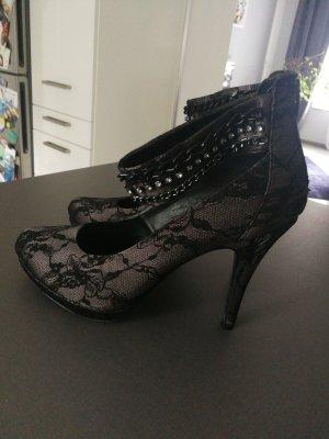 High heels mit Spitze