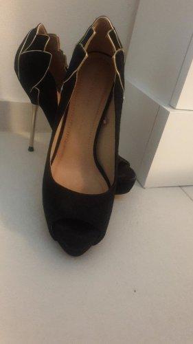 High Heels, neu, Größe 37, Absatz/ Gold