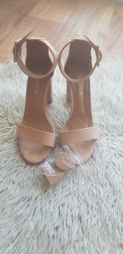 High Heels.  nude . 38 /39