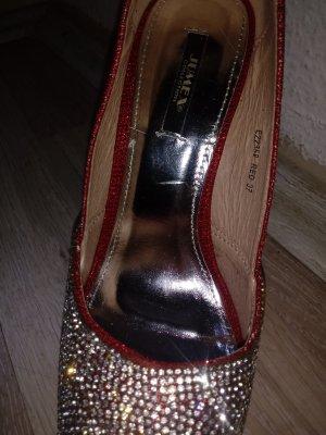 High Heels Peeptoes GR: 37 getragen.