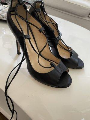 Phillip Hardy Paris Escarpins à lacets noir