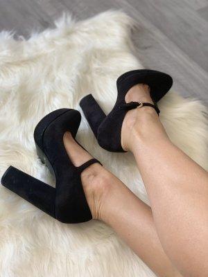 High heels Plateauschuhe Schuhe Pumps von Prima Donna in schwarz