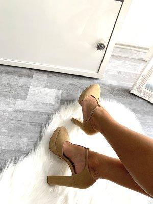 High heels Pumps Absatzschuhe New Look / 38 Gold beige / Basic Casual Chic