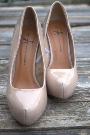 High Heels Pumps Gr.38 beige Atmosphere